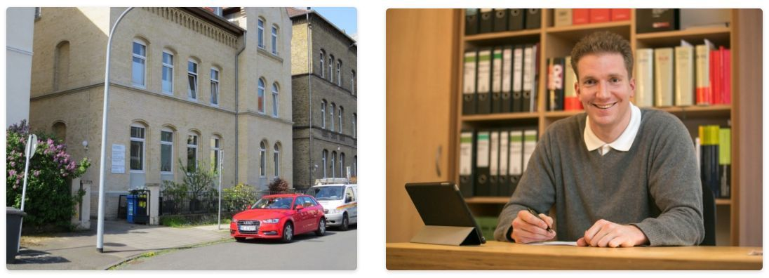 Kanzlei von Herrn Rechtsanwalt Zauner in der Pawelstrasse 5 in Braunschweig